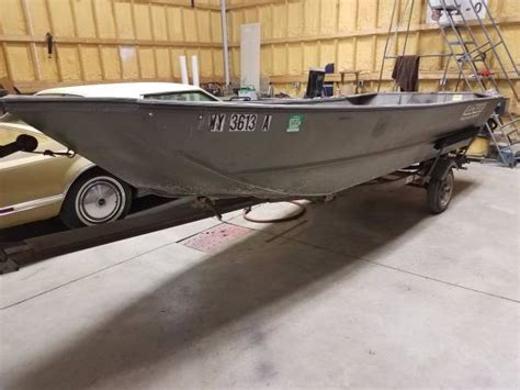 alweld tunnel boat lowe tunnel hull for sale