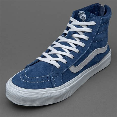 Sepatu Vans Sk8 Hi Original sepatu sneakers vans womens sk8 hi slim zip obsidian