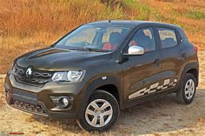Renault Kwid Renault Kwid Amt Automatic Official Review Team Bhp