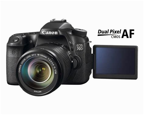 Kamera Slr Canon jual canon eos 70d 20 2 mp digital slr with dual