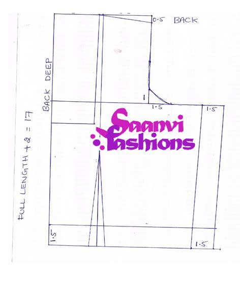 pattern drafting learn learn tailoring sewing online learn stiching saree blouse