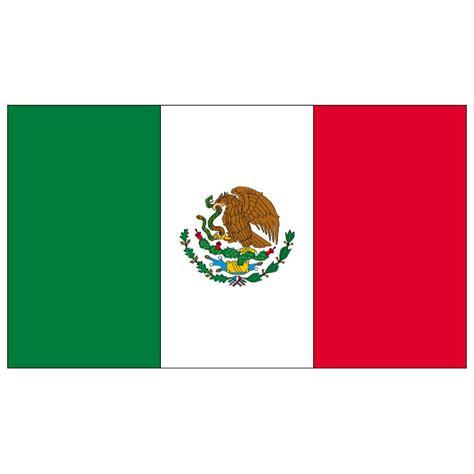 mexican flags clipart mexico flag vector at vectorportal