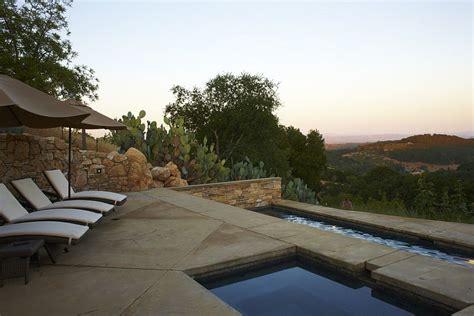 Backyard Rock Ideas Outdoor Design Trend 23 Fabulous Concrete Pool Deck Ideas