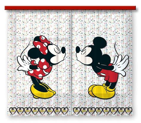 mickey mouse clubhouse schlafzimmer ideen disney mickey mouse gardine vorhang mickey mouse
