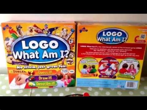 logo board second edition logo what am i board for children