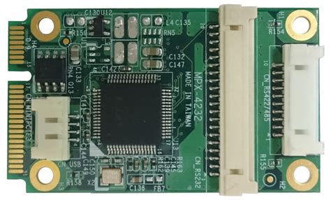 All In One Mini Pc Mpx 3900 Industrial Board Fujitech pci express mini card mpx 954e support 2 x rs422 485 2 x rs232