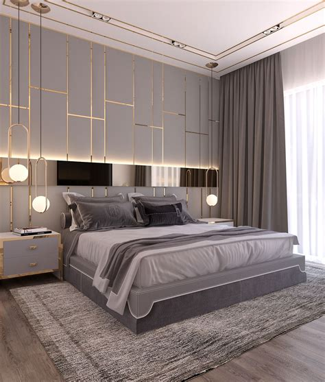 modern style bedroom dubai project  behance bedrooms