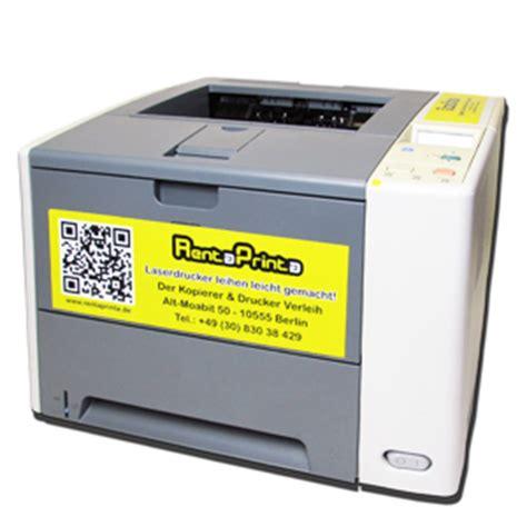 hp p3005 drucker mieten bzw a4 laserdrucker mieten f 252 r