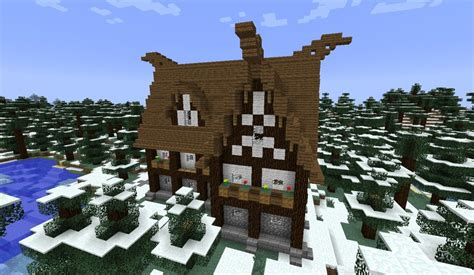 Blueprints Homes by How To Build A Viking House Minecraft Blog