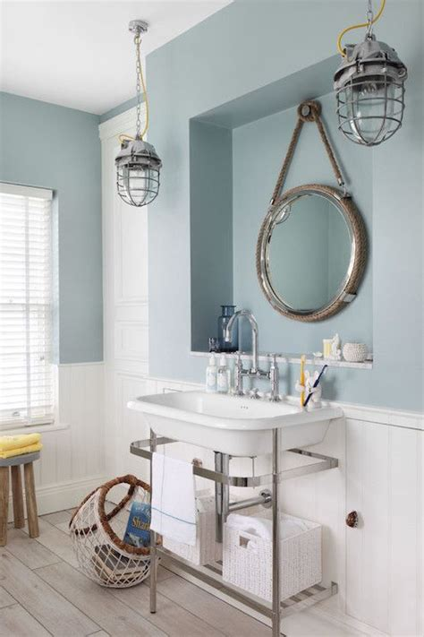 Cottage Style Mirrors Bathrooms by Nautical Style Bathrooms Cottage Bathroom Zoffany Paint