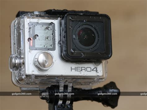 Pasaran Gopro 4 Silver gopro 4 black and 4 silver review ndtv gadgets360