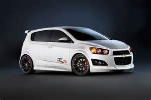 chevrolet small cars go big at sema