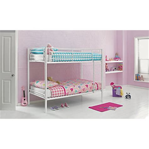 cheap shorty bunk beds metal white shorty bunk bed storage with mattress at homebase be inspired and make