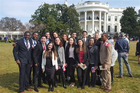 internships at the white house the american college of greece deree students visit the white house