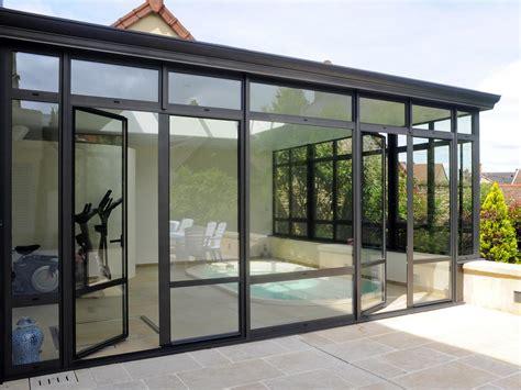 veranda metall v 233 randas aluminium sur mesure 224 mellecey beaune chalon