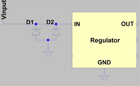 protection diode in parallel power supply two diodes in parallel for voltage protection electrical engineering stack
