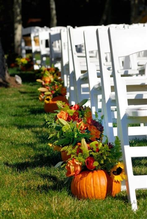 Fall wedding, Wedding ideas and Pumpkins on Pinterest