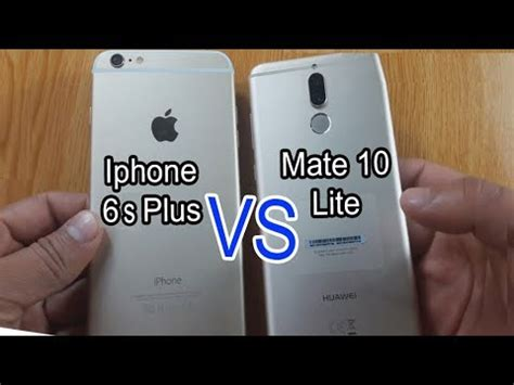 mate  lite  iphone   speed test comparison