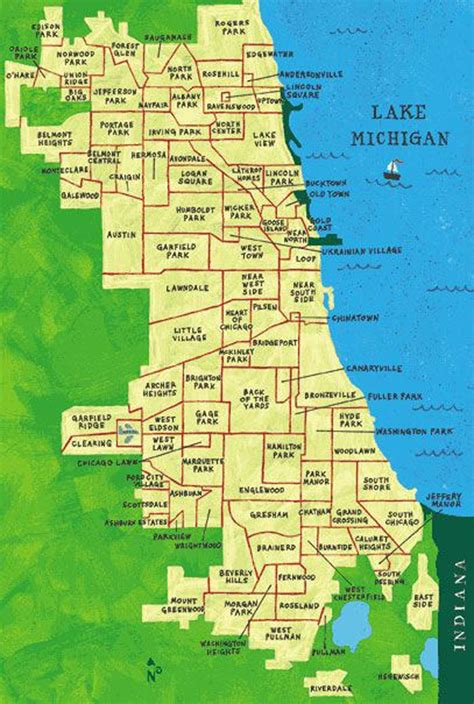 chicago map areas best 25 chicago neighborhoods ideas on