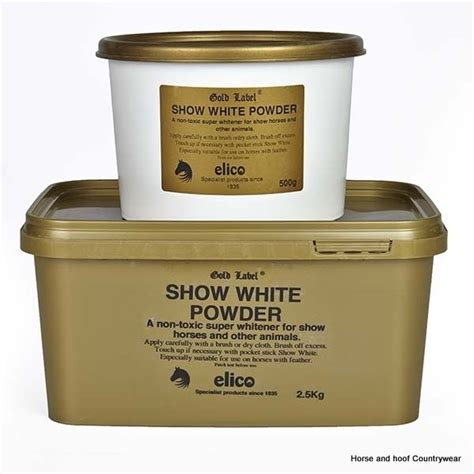 White Label Detox In Powder by Gold Label Show White Powder