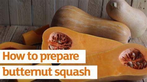 how to prepare butternut squash recipe sainsbury s