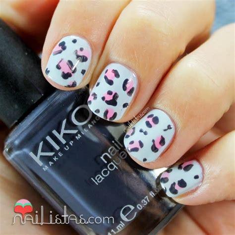 imagenes de uñas decoradas leopardo animal print nails baby leopard nailistas u 241 as