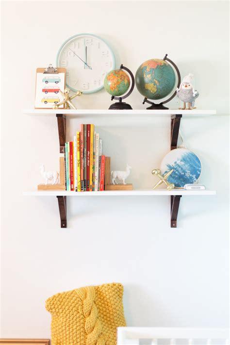 nursery shelves easy diy baby nursery shelves