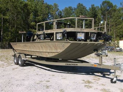 fishing boat for sale janesville wi 2016 tracker grizzly 2072 sportsman bowfishing series