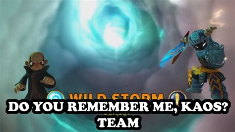 Kaos I You 2 Nm42n skylanders imaginators kaos gameplay do you remember me kaos team