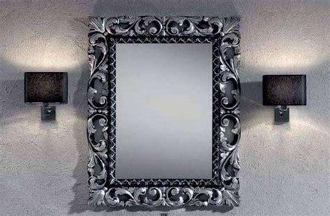 specchio bagno con cornice specchio con cornice barocca