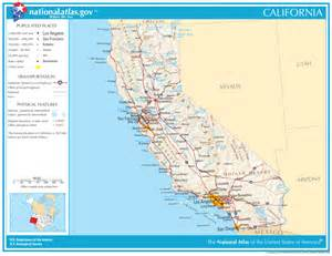 united states geography for california