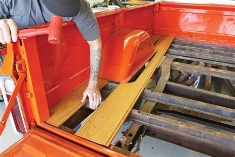 how to make a wood truck bed bed wood options for chevy c10 and gmc trucks hot rod