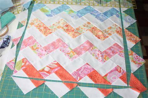 chevron zig zag quilt pattern 18 inch doll quilt zigzag or chevron pattern sewing tutorial