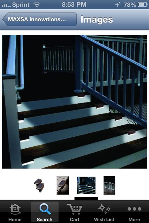 Solar Lights For Deck Stairs Deck Stair Solar Lighting Landscaping Gardening And