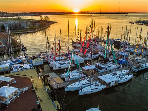 newport boat show fall 2018 top 5 boat shows for fall 2018 usharbors