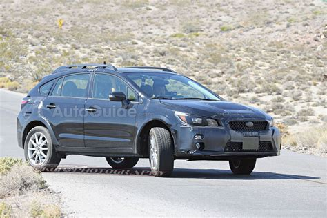 crosstrek xv 2018 2018 subaru xv crosstrek mule spied testing with possible