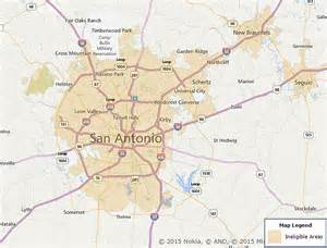 san antonio texas on map usda san antonio map