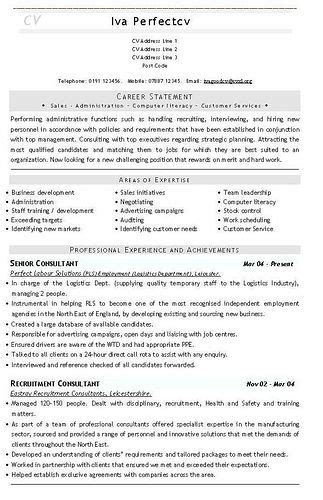 20 best administrative cv images on pinterest resume