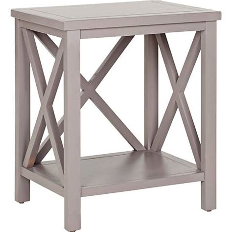 grey wood end tables delaina gray wood end table 4m184 ls plus