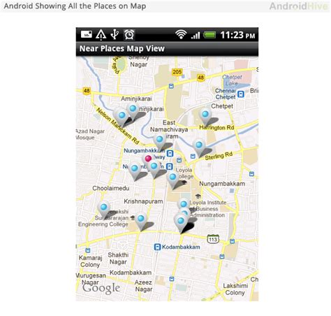 my note book android google maps tutorial android working with google places and maps tutorial