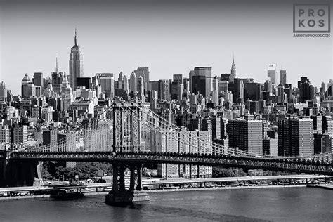 new york black and white skyline photography www