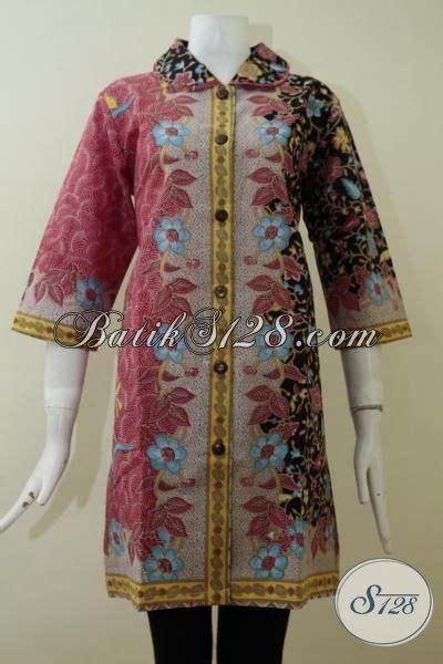 55 Baju Untuk Wanita Warna Merah busana batik klasik modern model dress untuk wanita dewasa yang ingin til rapi dan elegan