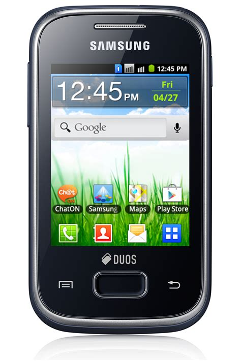 Samsung Galaxy Duos Kamera Depan samsung introduces galaxy pocket duos pushing the low end android dual sim boundaries