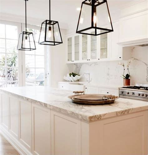 Smaller Doses Of Black In The Kitchen Centsational Girl Black Kitchen Pendant Lights