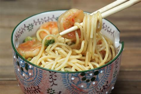 shrimp lo mein cookeatwell