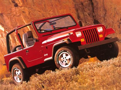 Jeep Wrangler Model Comparison 1994 Jeep Wrangler Specs Safety Rating Mpg Carsdirect