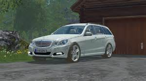 Mercedes Mods Mercedes E Class V 1 1 For Fs 15 Farming Simulator 2015