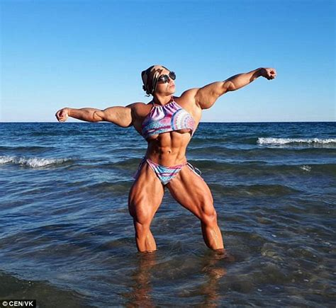 Bench Press Heavy Russian Powerlifter Unveils Photos Of Her Physique Daily