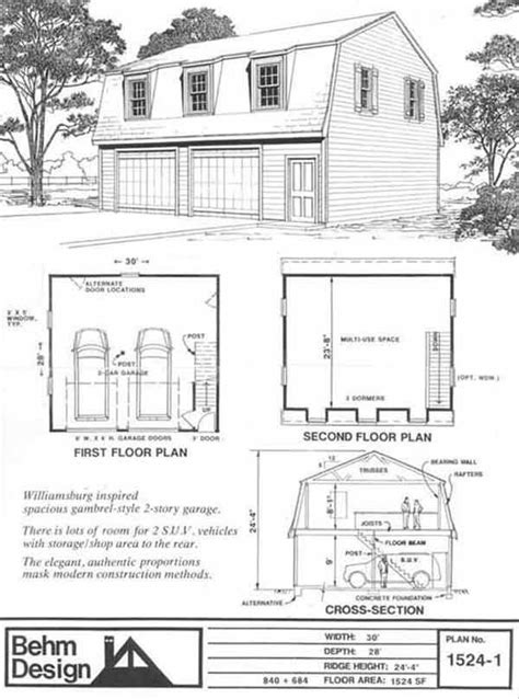 barn style garage with apartment plans 1000 images about gambrel barn with apartment on