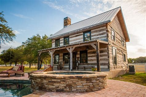 Country House With Wrap Around Porch by H J Light Rustic Cabin Heritage Restorations